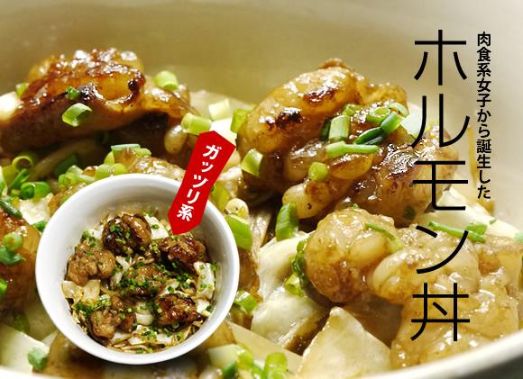 府内町ホルモン丼定食